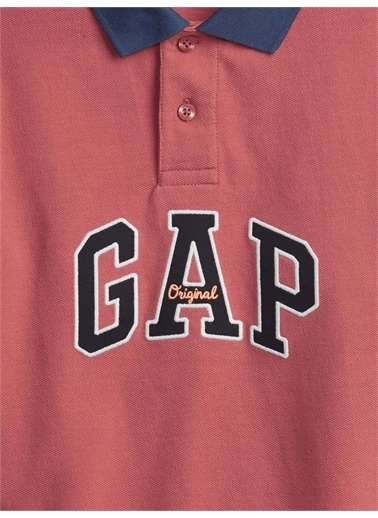 Gap Gap Logo Polo Yaka Tshirt, Pembe